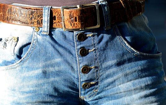 Belts, Buckle, Jeans, Buttons, Fashion, Belt Buckle