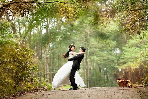 Wedding, Love, Happy, Couple, Bride, Groom, Wed, Dance