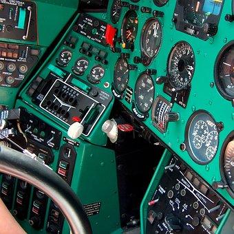 Control Panel, Cockpit, Instrument, Flight, Management