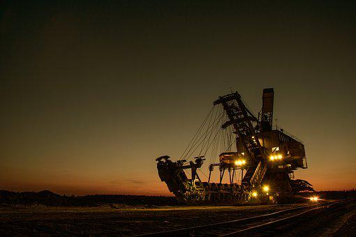 Mining Excavator, Electric, Bucket-wheel Excavator