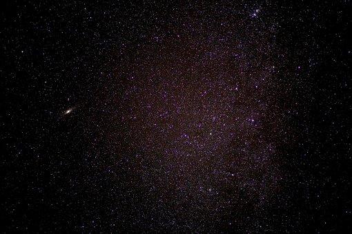 Starry Sky, Star, Galaxies, Constellations, Night Sky