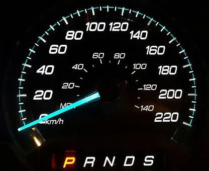 Odometer, Speedometer, Dash, Dashboard, Panel, Gear