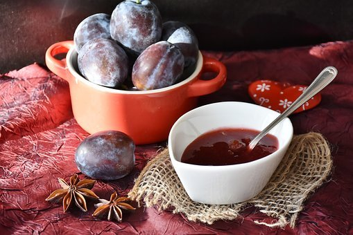 Plums, Fruit, Jam, Violet, Sweet, Purple By, Eat, Cook