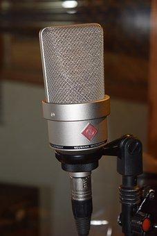 Microphone, Neumann, Sound, Recording Studio, Recording