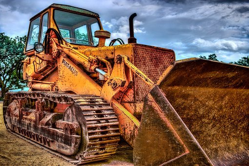 Excavators, Caterpillar, Machine, Vehicle, Site