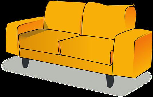 Settee, Sofa, Couch, Furniture, Livingroom, Living Room