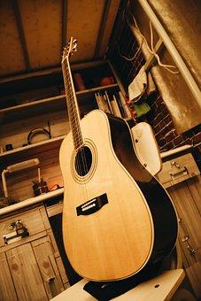 Guitar, Dorm Room, Warm, Sound