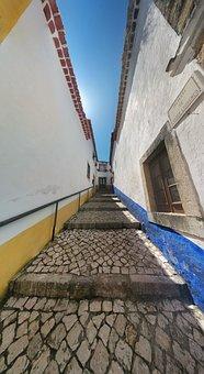 Street, Stair, Iberian, Mediterranean, Village