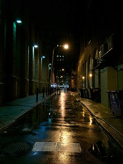 Street, Night, City, Urban, City At Night, City Night