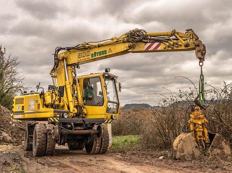 Excavators, Construction Machine, Two-way Excavator