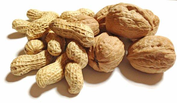 Food, Nuts, Peanut, Walnut