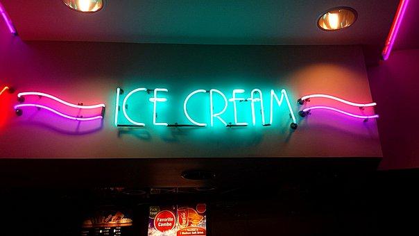 Ice Cream, Advert, Announcement, Advertisement, Notice