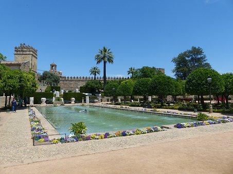 Alcázar De Los Reyes Cristianos, Park, Palace