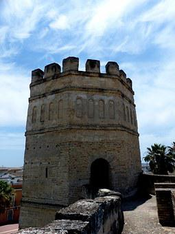 Alcazar, Tower, Battlements, Moorish, Architecture