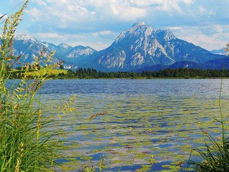 Lake, Allgäu, Bavaria, Hop On The Lake, Säuling