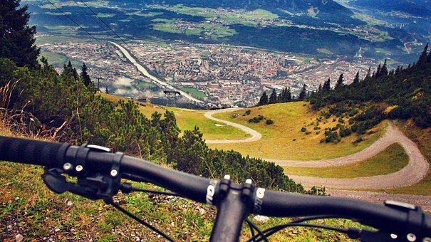 Mountain Biking, Alps, Austria, Innsbruck, Biking, Bike