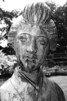 Statue, Oriental, Japanese, Face, Asia, Japan