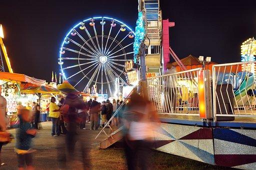 Colors, Avignon, Curl, Fair, Ferris, Flying, Fun, Games