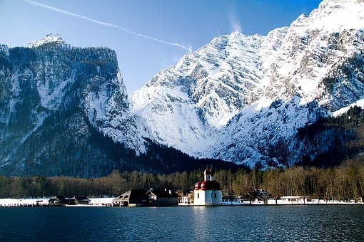 King Lake, Bartholomä St, Berchtesgadener Land