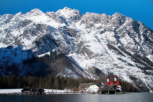 King Lake, Bartholomä St, Berchtesgadener Land
