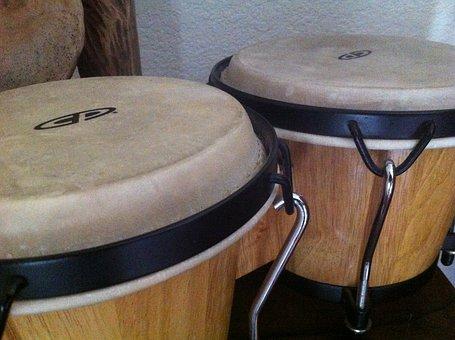 Drum, Bongos, Drums, Hand Drums, Music