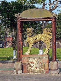 Viet Nam, Booed, Dragon, Citadel, Imperial Palace