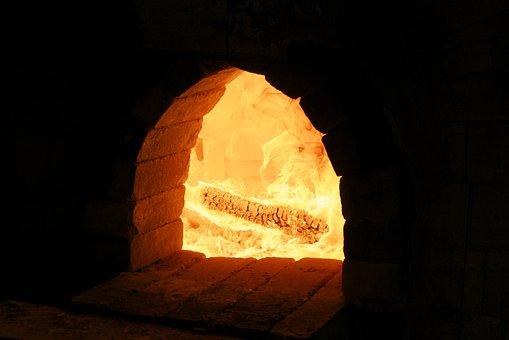 Oven, Holfofen, Fire, Wood Fire, Flame, Burn, Brand