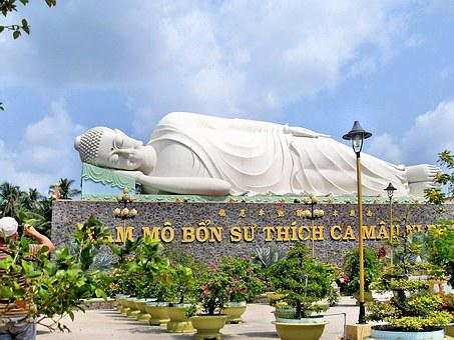 Viet Nam, Temple, Caodai, Buddha, Lying, Religion