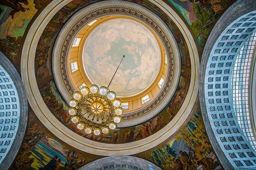 Capitol, City Salt Lake, Utah, Bell Jar, Dome