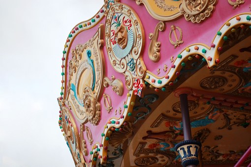 Carousels, Roundabout, Happy Valley, Decoration