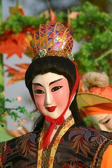 China, Dolls, Far East, Art, Fig, Statue, Fernöstlich