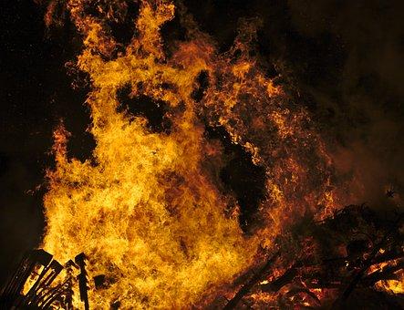 Fire, Flames, Hot, Burn, Heat, Bonfire, Inferno, Hell