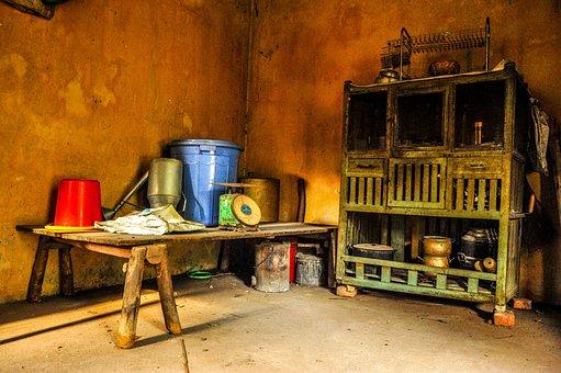 Vietnam, Hanoi, Asia, Vietnamese, Life, Poor, Kitchen
