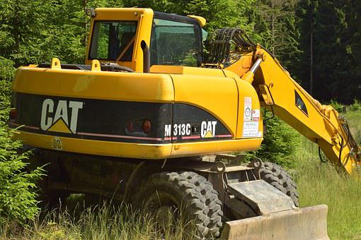 Forestry Vehicle, Tree Cases, Limbing, Large, Enormous