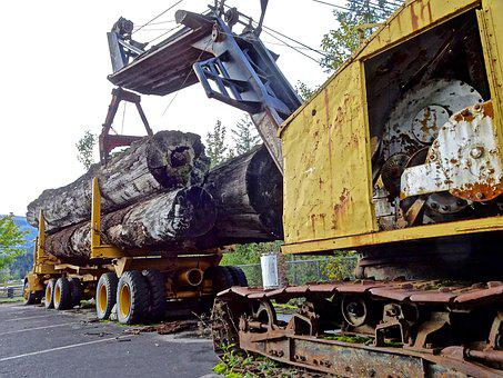 Loading, Lumber, Timber Truck, Logging, Forestry