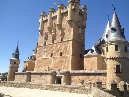 Segovia, Alcazar, Civil Works, Monument, Architecture