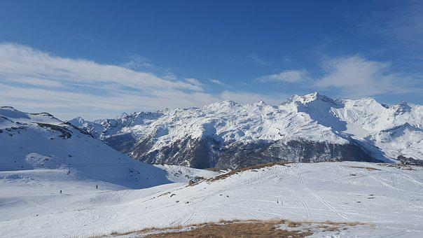 Mountains, The Alps, Snow, Winter, Nature, Ski, Italy