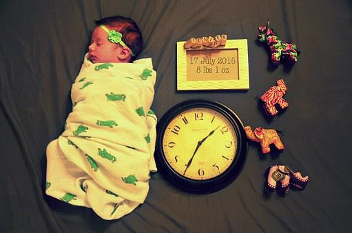 Birth, Announcement, Baby, Newborn, Swaddle, Child