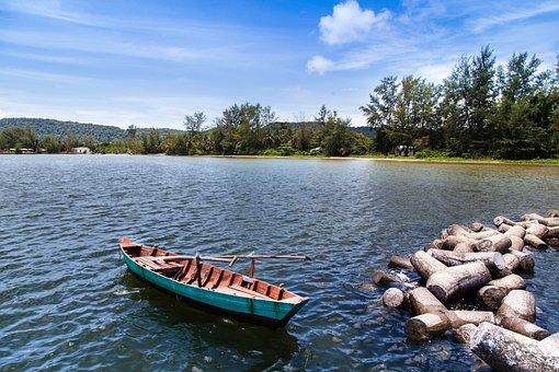 Phu Quoc, Island, Boat, No People, Still, Viet Nam