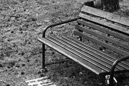 Bench, Session, Outside, Wooden Bench, Travel, Path