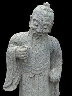 Buddhism, Stone Figure, Buddha, Fig, Temple, Religion