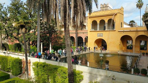 Alcázar Of Seville, Royal Alcazars Of Seville, Seville