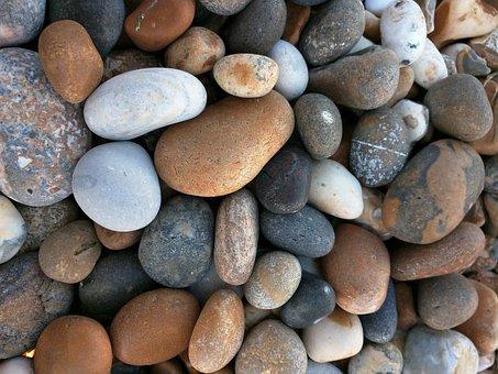 Pebbles, Sea, Beach Stones, Small, Shore, Smooth