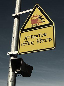Platform, Note, Shield, Sign, Warning, Security
