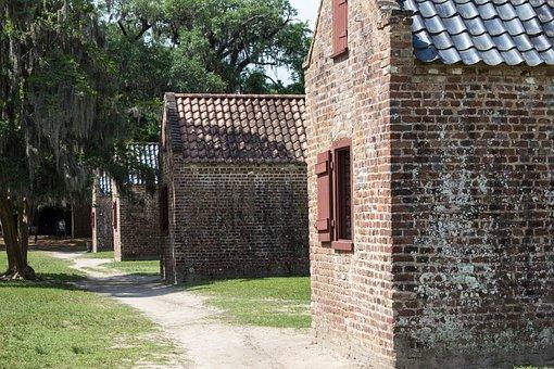 Slave Quarters, Boone Plantation, South Carolina