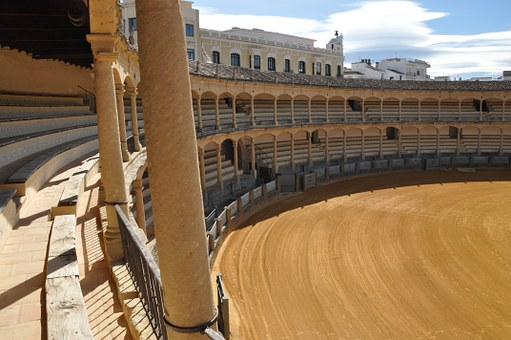 Arena, Bullfight, Spain, Roundabout