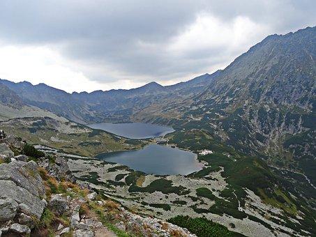 Landscape, Mountains, Lake, Pond, Nature, Tatry
