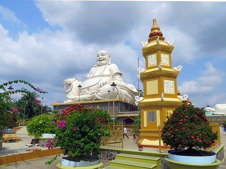 Viet Nam, Temple, Caodai, Religion, Buddha, Monument
