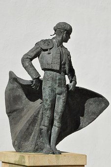 Bullfighter, Spaniard, The Statue, Male, Spain