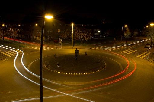 Roundabout Traffic, Traffic Circle, Rotary